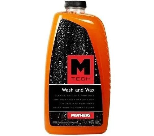 MTECH WASH AND WAX MOTHERS ( Shampoo com cera) 1420ML