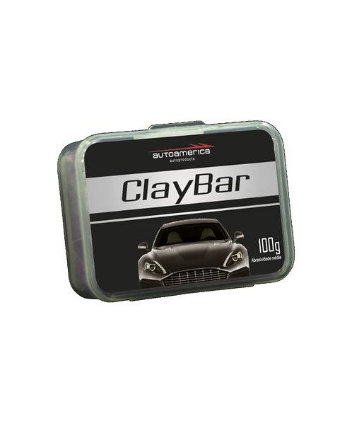 CLAYBAR AUTOAMERICA 100G (Barra Limpadora)