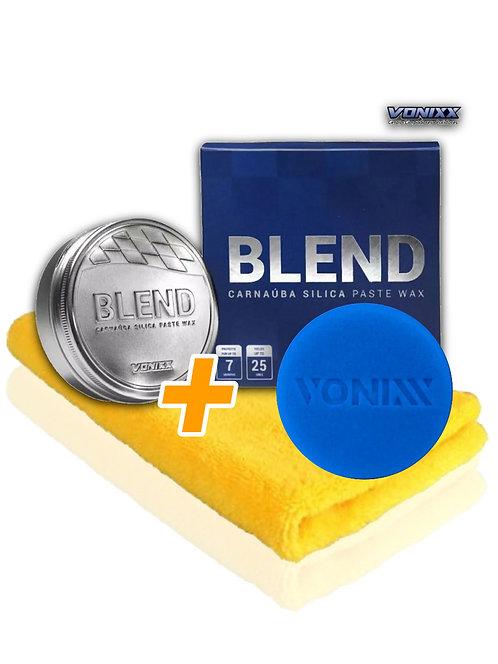 CERA BLEND VONIXX 100G + MICROFIBRA