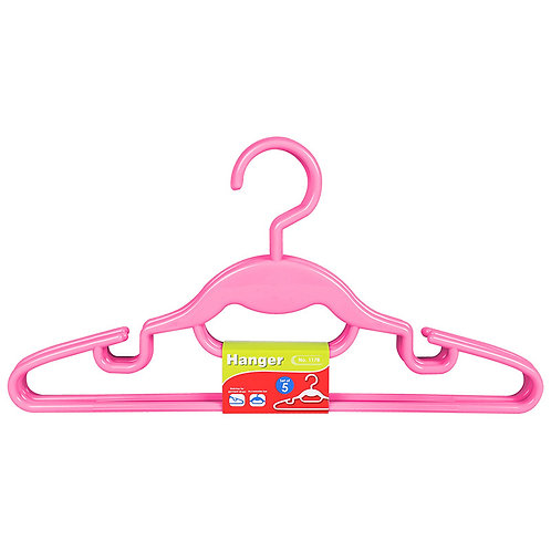 Plastic - Hanger (Set Of 5) 1178