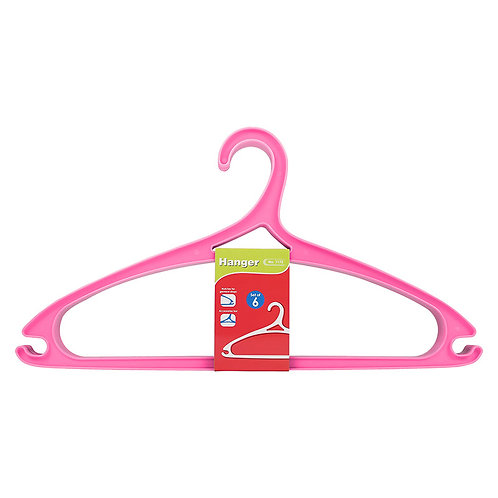Plastic - Hanger (Set Of 6) 1172