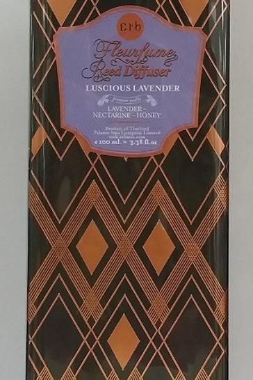 Luscious Lavender Fleurfume Reed Diffuser 100  ml.