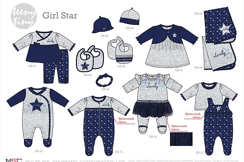 Winter Girl Star Collection