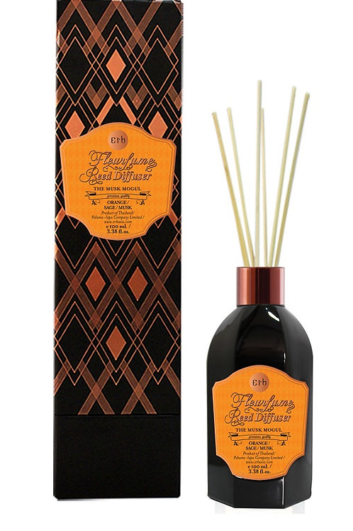 The Musk Mogul Fleurfume Reed Diffuser 100  ml.
