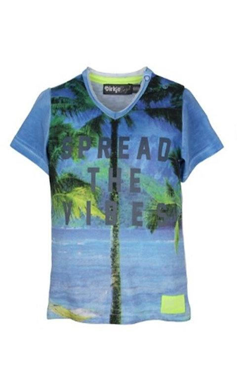 W24500:baby t-shirt v-neck