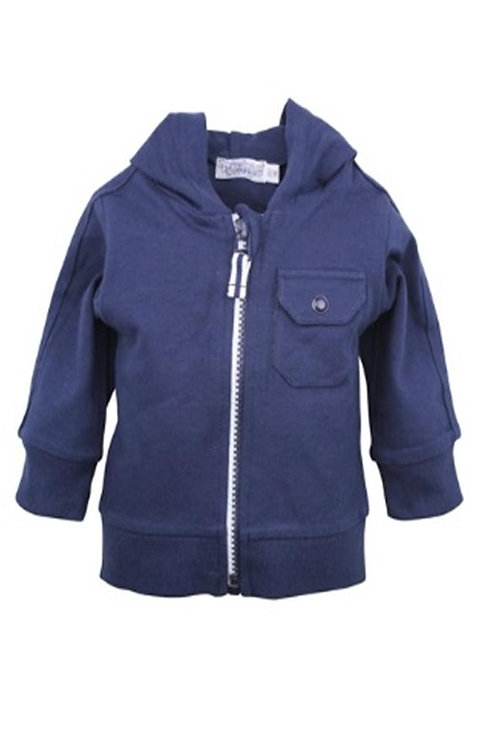 W24328 :Baby jogging cardigan with hood