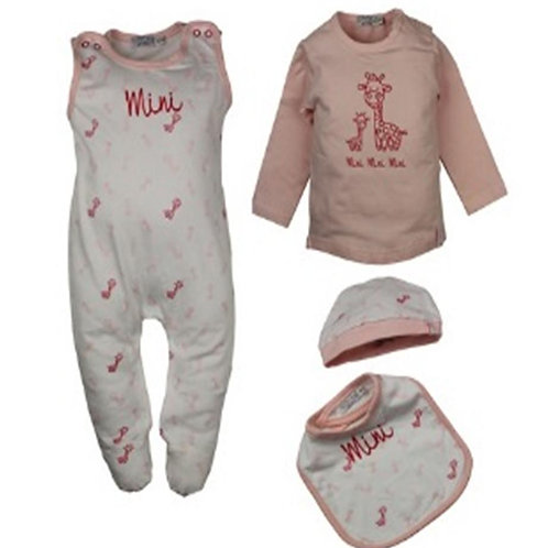 W24130 : 4 Piece babyset GIRLS