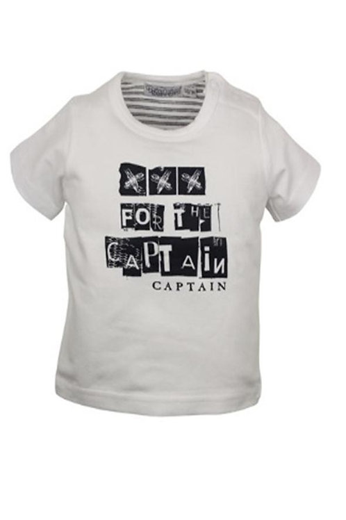 W24340MH: Toddler t-shirt ''captain''