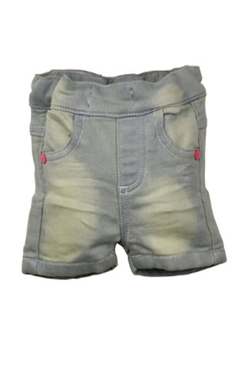 W24246:Baby knitted jeans shorts