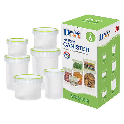Airtight Canister (Set Of 6)
