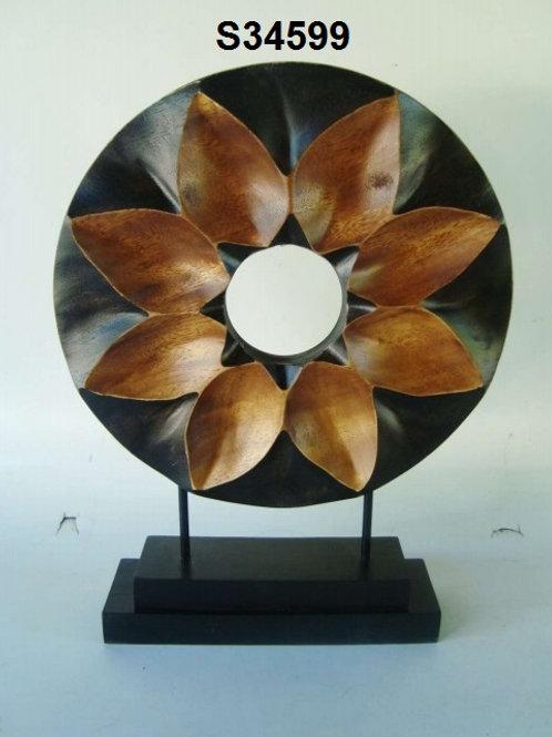 "Wood Sculpture3""x12""x15.5"""