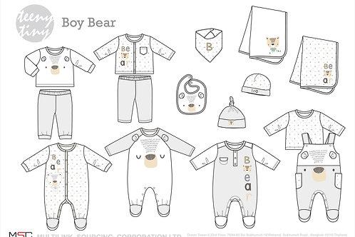 Winter Boy Bear Collection