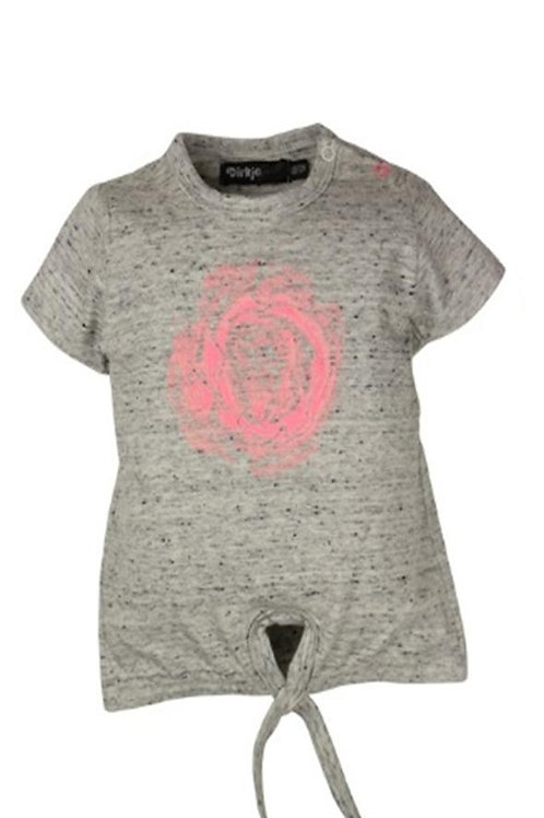 W24450BH:T-shirt with knot