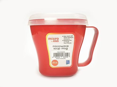 MICROWAVE CONTAINER 600 ML.