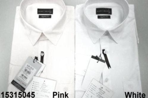 Men shirt - Pink-White