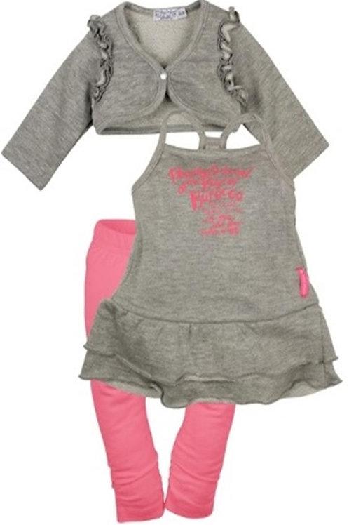 W24020 :3 pce babysuit dress
