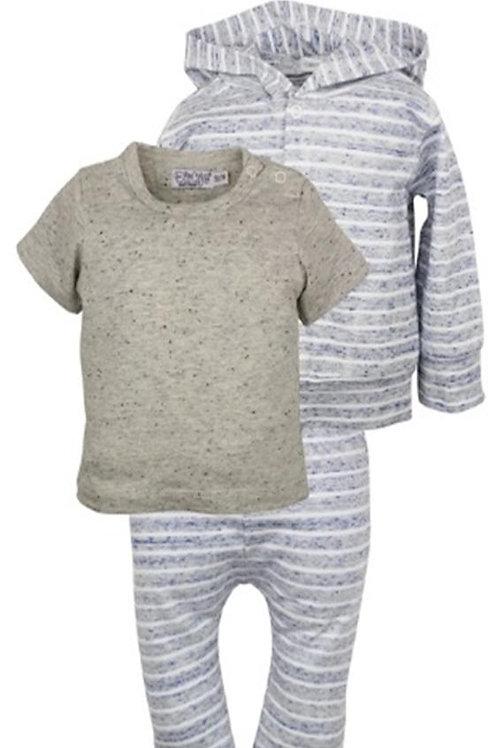 W24036:3 pce babysuit