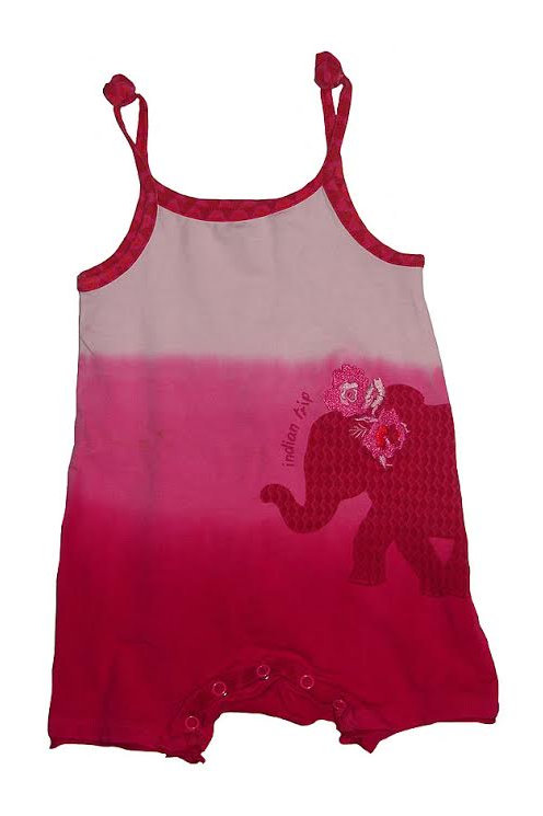 K 556 Orchestra Baby Girls Tie n Dye Strappy Playsuit