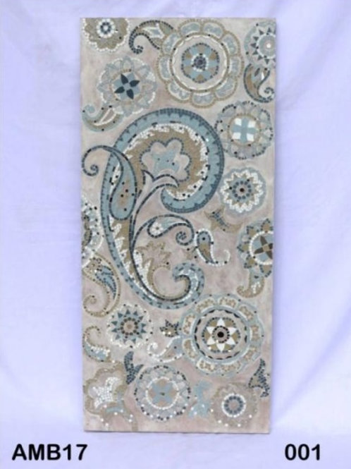 MOSAIC PAISLEY WALL PANEL