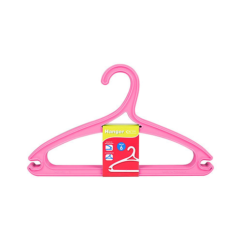 Plastic - Hanger (Set Of 6) 1177