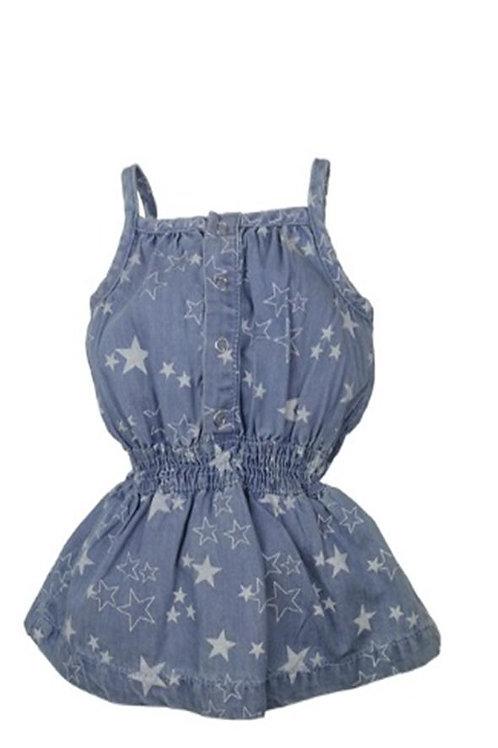 W24212 :Baby jeans dress