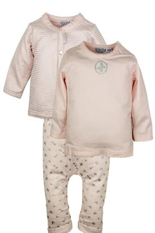 W24016: 3 pce babysuit