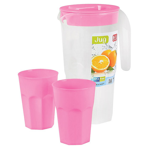 Jug (1.5L) With 2 cups