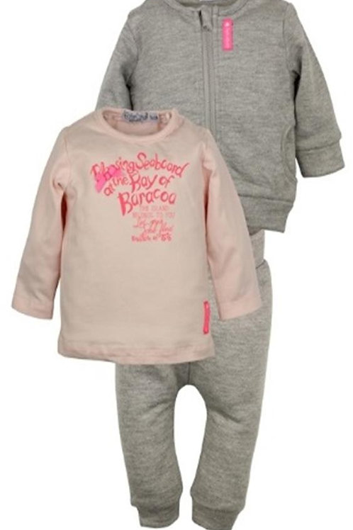W24019:3 pce babysuit