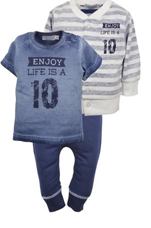 W24109 : 3 pce babysuit