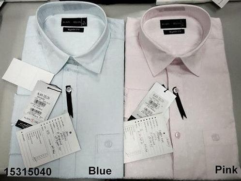 Men shirt - Blue-Pink