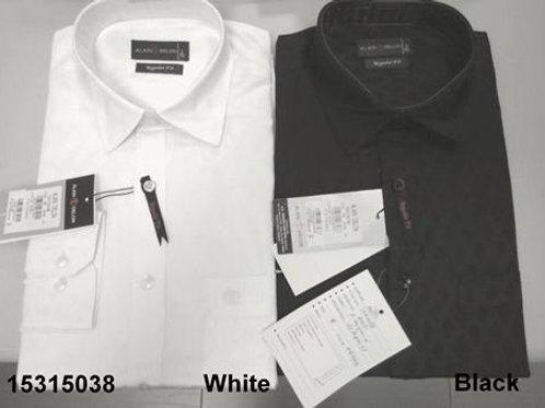 Men shirt - White-Black
