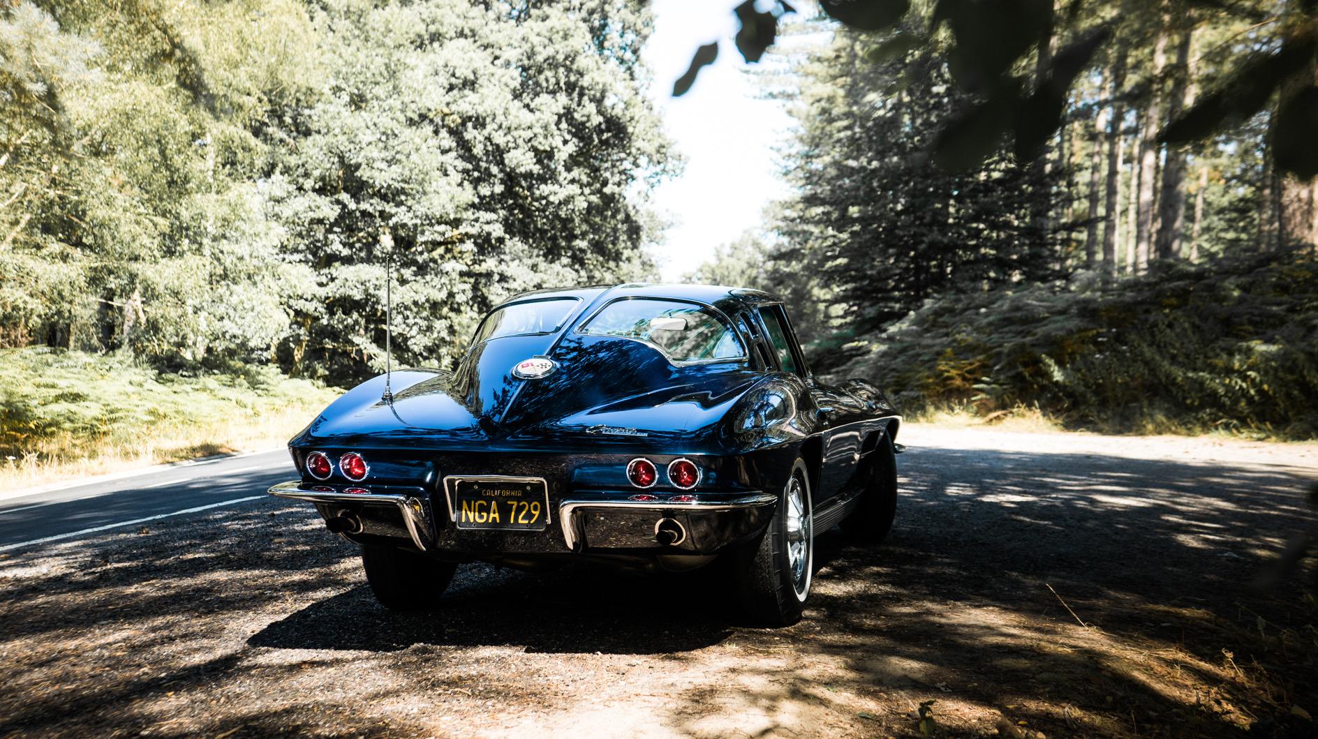 Corvette split window