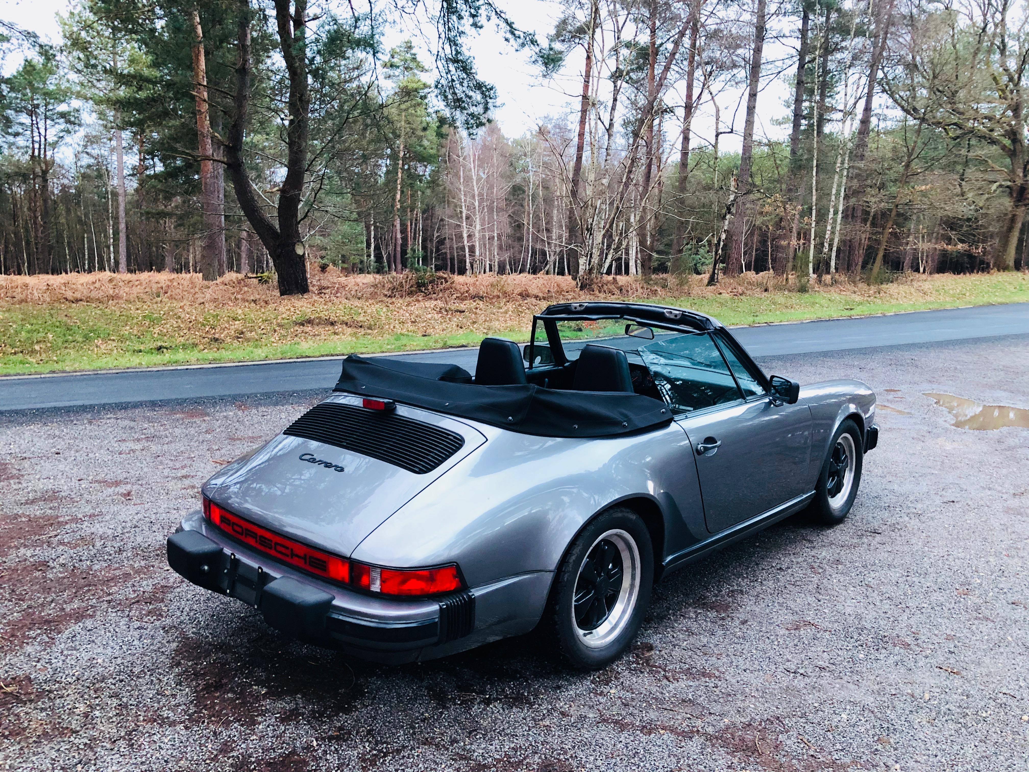 Porsche cabriolet 3.2l