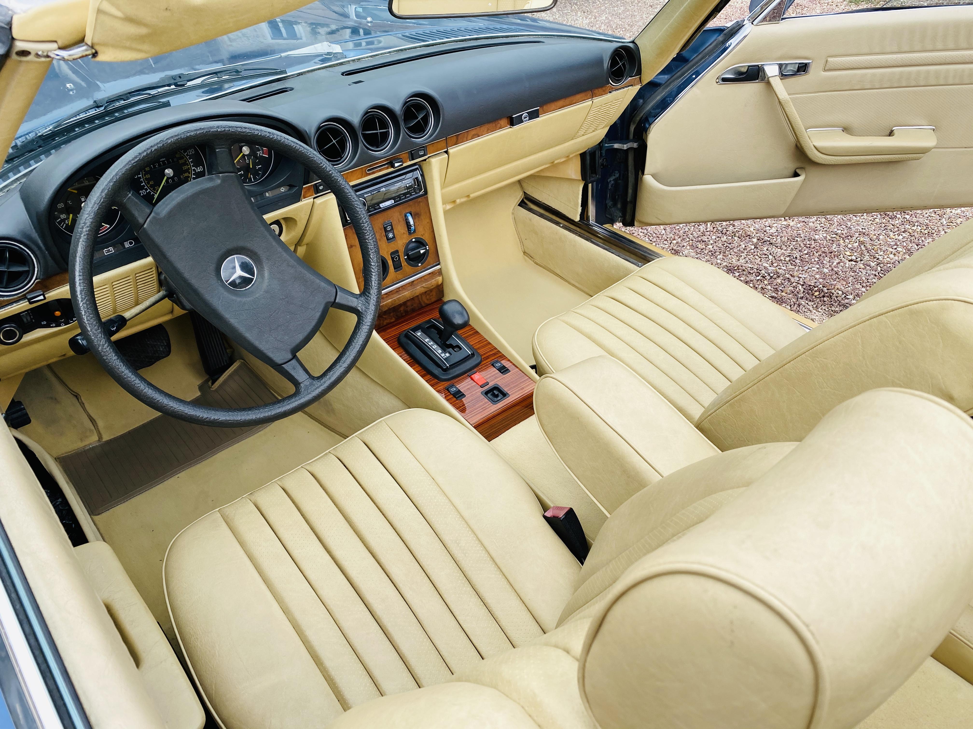 Mercedes 500SL R107