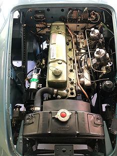 compartiment moteur Austin Healey BN7 MK1