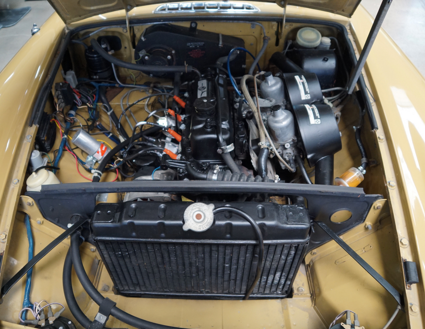 MG B 1972