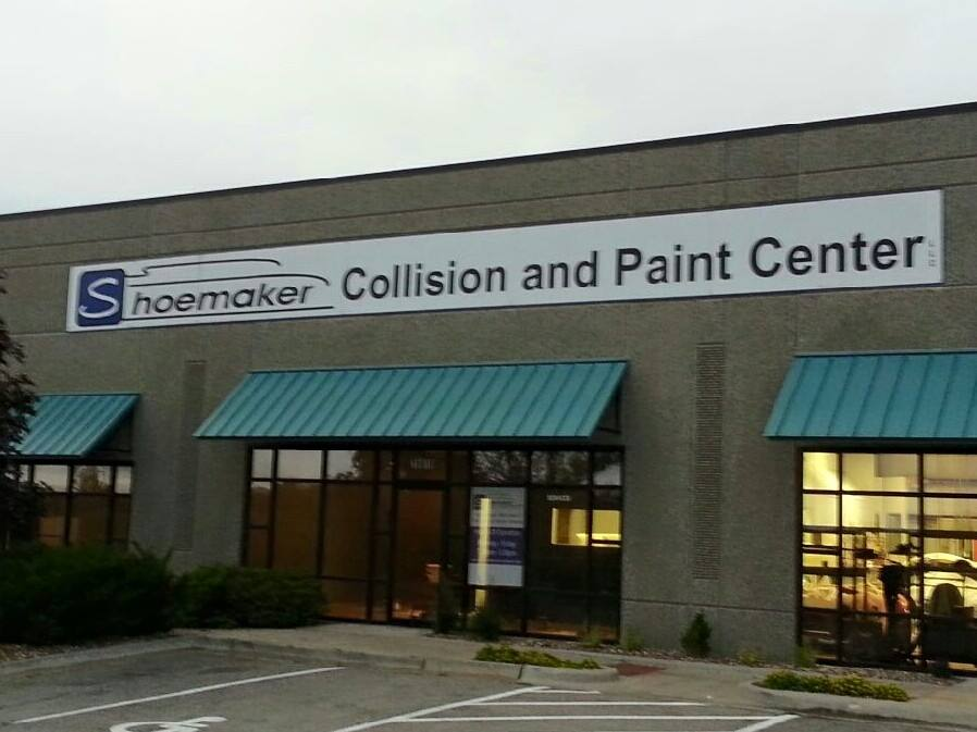 Shoemaker Collision and Paint Center