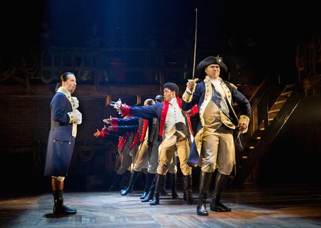 Hamilton, The Public Theater