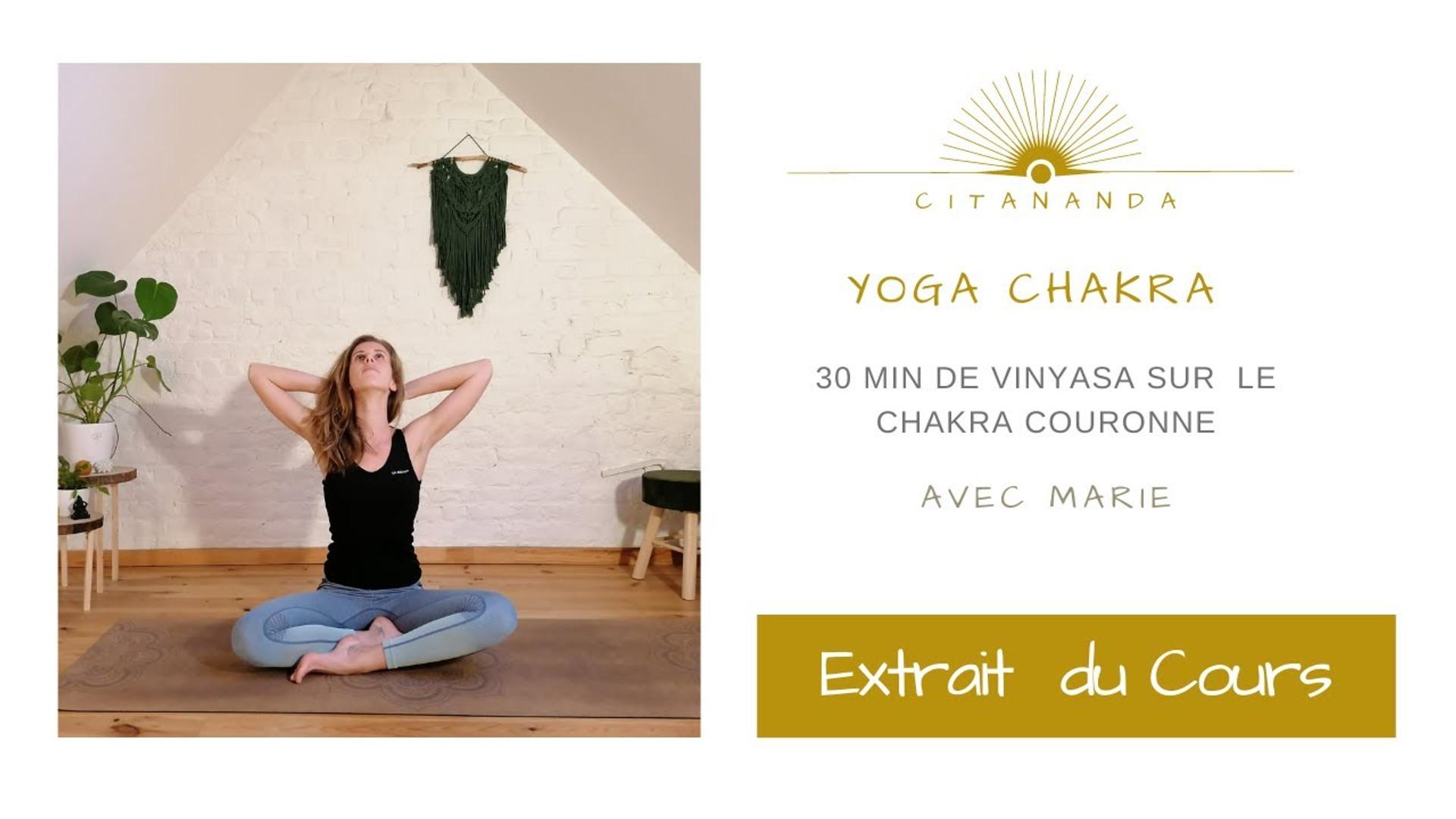 Extrait Yoga pour le Chakra Couronne