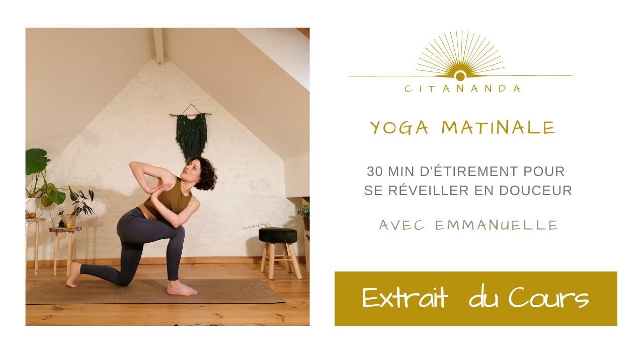 Extrait du cours de yoga matinale avril
