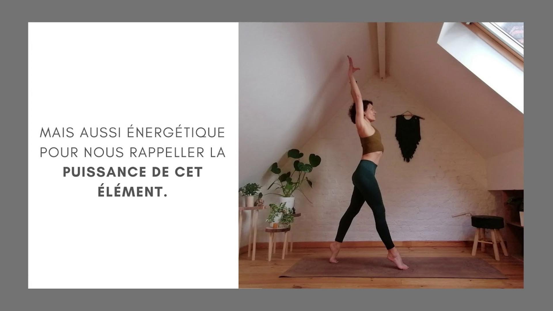 Extrait cours de yoga sur l'eau avec Emmanuelle