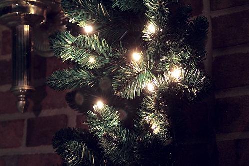 LED lighted garland
