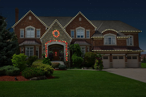 Roofline with Estate Greenery Package