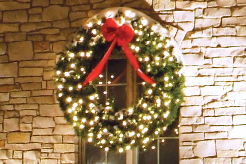 LED 5' Wreath