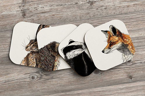 Hedgehog table coaster made in the UK