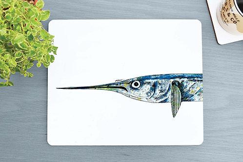 Garfish Placemat design by R.Sawyer Designs