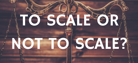 Agile – to scale or not to scale…