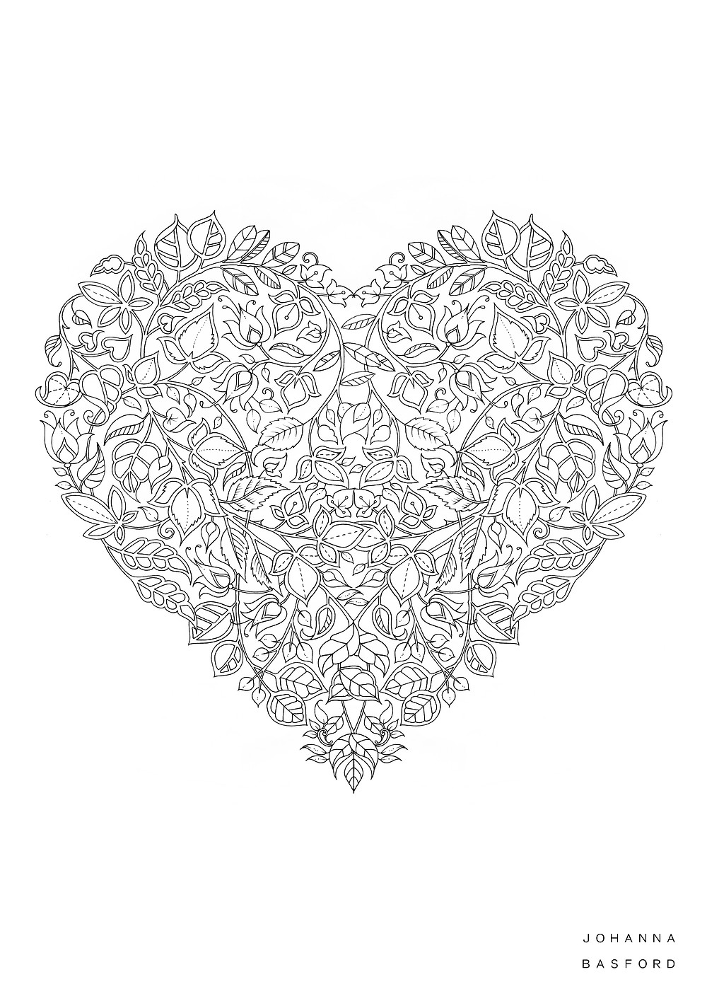 Valentines Colour A4