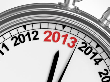 6 questions about 2013