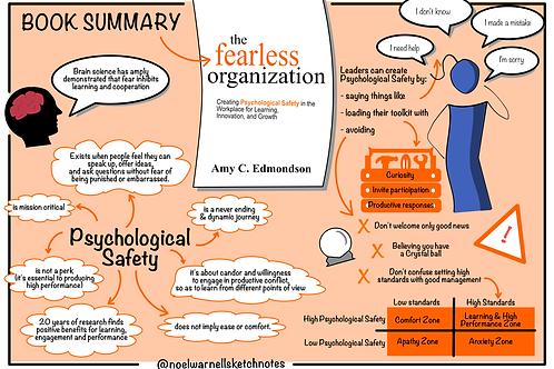 The Fearless Organisation - Book Summary